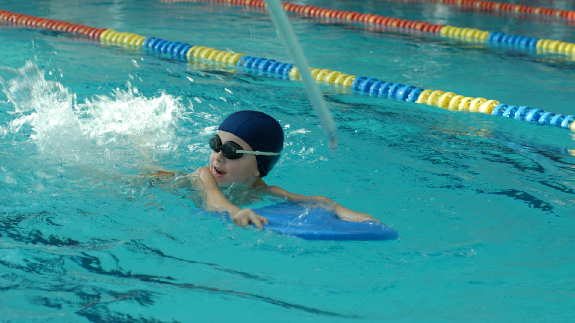 Nauka pływania po godz. 19