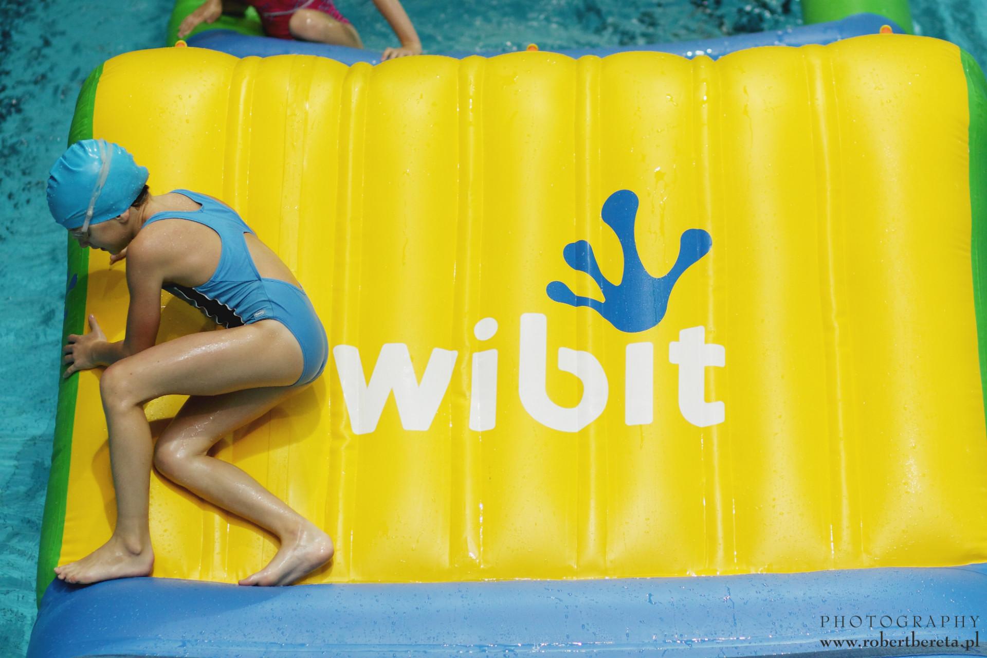 WIBIT AQUA TRACK na pływalni!