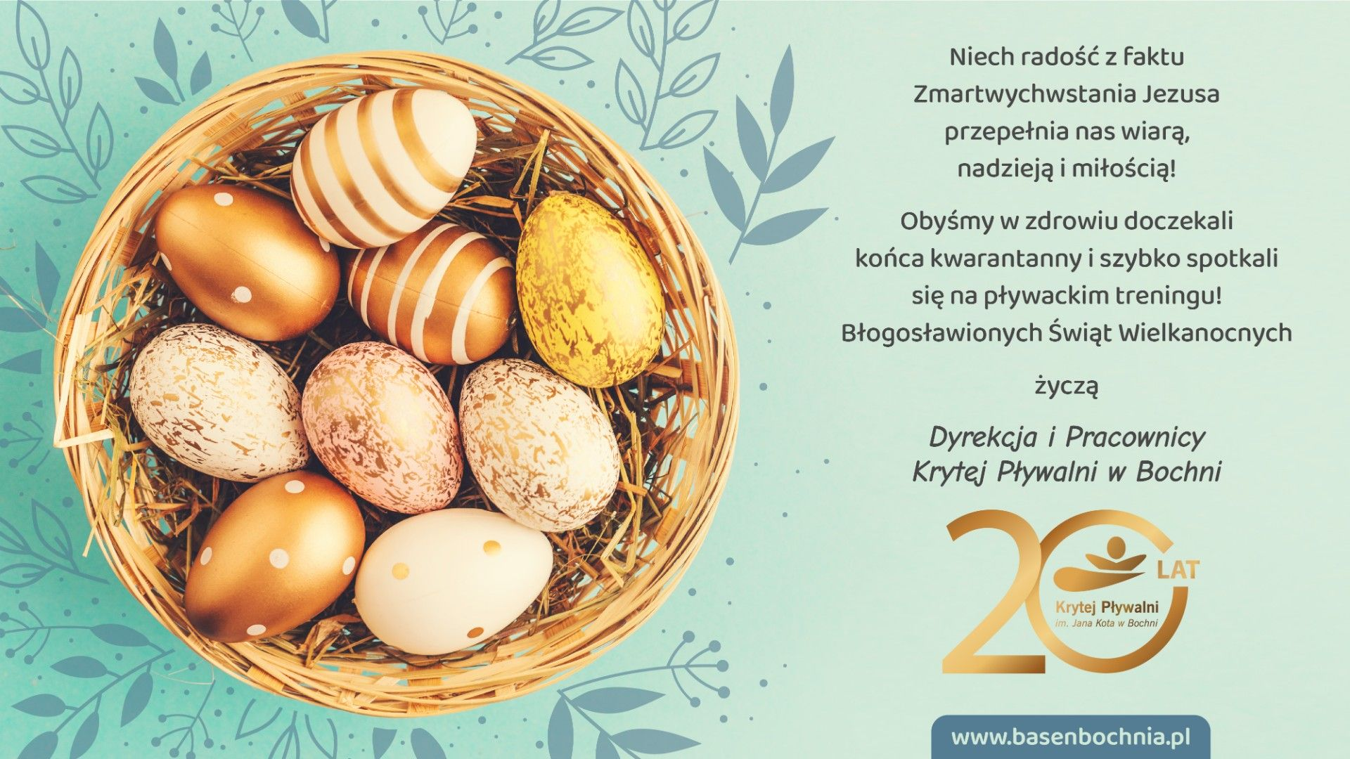 Życzenia Świąteczne Wielkanoc 2020